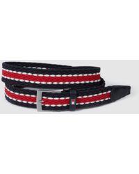 Tommy Hilfiger - Mens Tricoloured Plaited Belt - Lyst