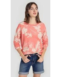 indi & cold - Long Sleeve Jumper With Floral Print - Lyst