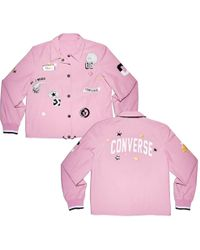 Converse - All Over Patches Coaches Jacket - Lyst