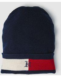 Tommy Hilfiger - Lewis Hamilton Black Wool Hat - Lyst 290a1068976a