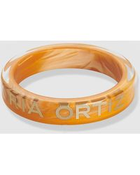 Gloria Ortiz - Victoria Orange And Gold Bracelet - Lyst