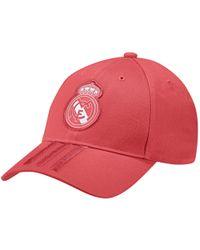 e5a971843d0 Lyst - Adidas Originals Real Salt Lake Skyline Snapback Cap in Red ...