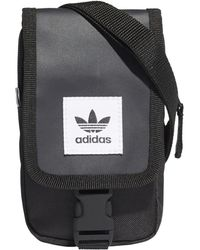 d220911227 Lyst - adidas Originals Perforated Flight Bag in Black for Men