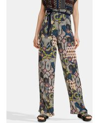 0d17ea58ed Women's Desigual Wide-leg and palazzo pants On Sale - Lyst