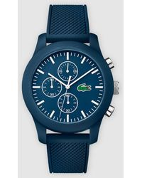 Lacoste - Lacoste Silicone Chronograph Watch - Lyst