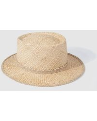 El Corte Inglés - Wo Natural-coloured Fabric Hat - Lyst