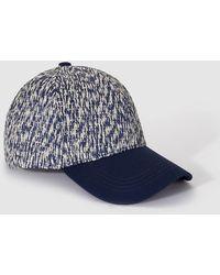 El Corte Inglés - Wo Blue Combined Cap - Lyst