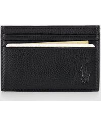 Polo Ralph Lauren Tartan Bear Billfold in Black for Men - Lyst ac74c4f873e81