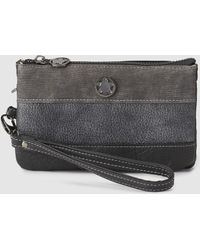 Caminatta - Black Pouch With A Short Detachable Strap - Lyst
