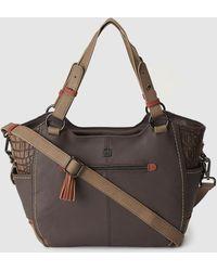 Caminatta - Brown Shopper Bag With Coconut Details - Lyst