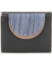 El Corte Inglés - Black Leather Wallet With Double Compartment - Lyst