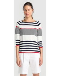 Zendra El Corte Inglés - El Corte Inglés Zendra White Bermuda Shorts - Lyst
