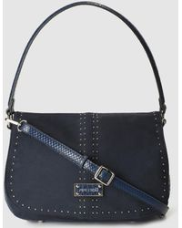 Pepe Moll - Blue Shoulder Bag With Long Detachable Strap - Lyst