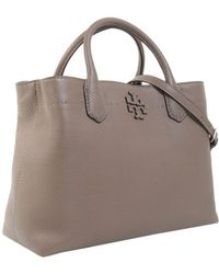 Tory Burch - Mcgraw Tote In Pebble Leather - Lyst