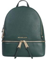 MICHAEL Michael Kors - Medium Rhea Bottled Leather Zip Backpack - Lyst