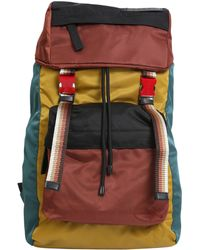 Marni - Colour Block Panelled Shell Backpack - Lyst