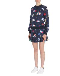 "Tommy Hilfiger - Gonna ""maisie"" Con Stampa Flags - Lyst"