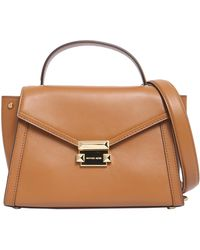 MICHAEL Michael Kors - Medium Whitney Leather Handbag - Lyst