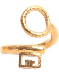 Givenchy - Gv Brass Ring - Lyst