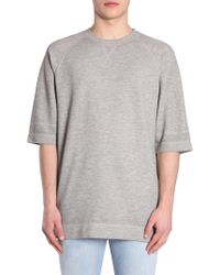 Diesel Black Gold - T-shirt Tucky In Cotone Oversize Fit - Lyst