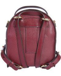 2b716a58b262 MICHAEL Michael Kors - Mini Jessa Leather Backpack - Lyst