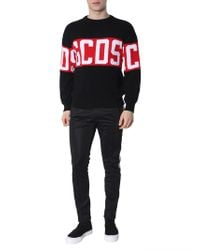 Gcds - Logo Knit Sweater - Lyst
