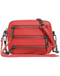 Rebecca Minkoff - Moto 4 Zip Leather Camera Bag - Lyst