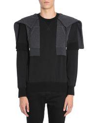 Alexander McQueen - Hooded Cotton Sweatshirt - Lyst