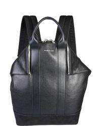 Alexander McQueen - De Manta Leather Backpack - Lyst