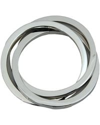 DSquared² - Silver Aluminium Triple Bracelet - Lyst