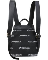 JW Anderson - Mini Pierce Logo Canvas And Leather Backpack - Lyst