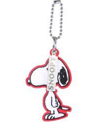 "Marc Jacobs ""snoopy"" Peanuts® X Fabric Key Holder"