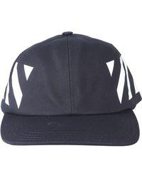 0e561795 Off-White c/o Virgil Abloh Marble-print Baseball Cap in Black for ...