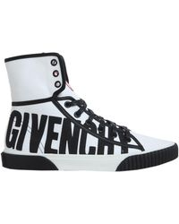 Givenchy - Boxing Cotton Canvas Trainers - Lyst