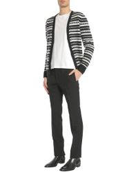 ee592718d Lyst - Thom Browne Mohair Anchor Cardigan in Gray for Men