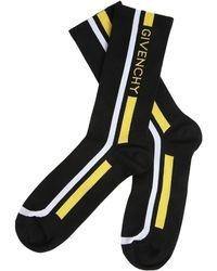 Givenchy - Colour-block Logo Socks - Lyst