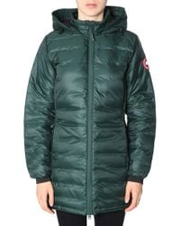 """Canada Goose - Hooded """"camp"""" Down Jacket - Lyst"""