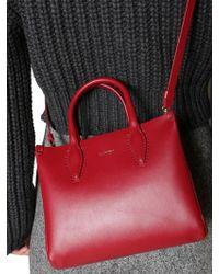 Lanvin - Nano Leather Shopping Bag - Lyst