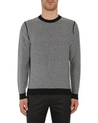 """BOSS - """"morelli"""" Cotton Blend And Wool Sweater - Lyst"""