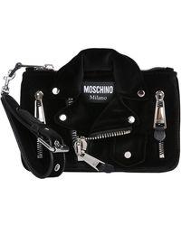 Moschino - Small Biker Clutch Bag - Lyst