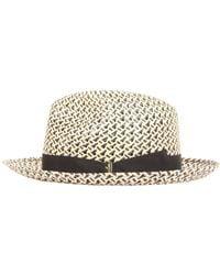 Borsalino - Panama Ventilato Straw Hat - Lyst