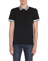 "BOSS Athleisure - Slim Fit ""paule"" Cotton Blend Polo Shirt With S.cafè® - Lyst"