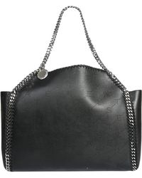 Stella McCartney - Falabella Reversible Tote Bag In SHAGGY Deer Leather - Lyst