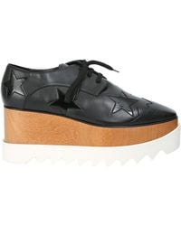 Stella McCartney - Elyse Star Lace-up Shoes - Lyst