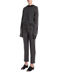 Haider Ackermann - Striped Wool And Viscose Jumper - Lyst
