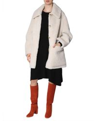 """Tory Burch - Reversible """"oliver"""" Coat - Lyst"""