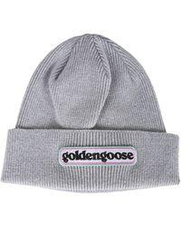 Golden Goose Deluxe Brand - Baby Syrma Cap In Cotton - Lyst