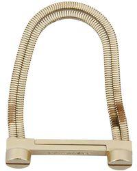 DSquared² | Screwed Brass Bracelet | Lyst
