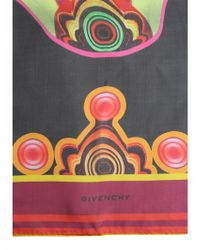 Givenchy - Kaleidoscope Print Silk Foulard - Lyst