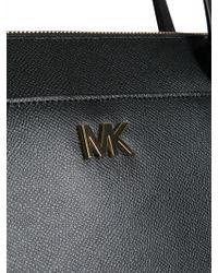 Lyst - Michael Michael Kors Lupita Large Leather Hobo Bag in Black 4dd9d6c6b2